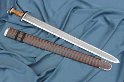 Anglosaský meč s prsteňom-Anglo-saxon sword with ring-pommel